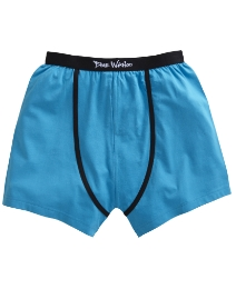 Blue Wahoo Blue Pack of 2 Boxer Shorts