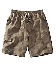 Jacamo Camouflage Swim Shorts