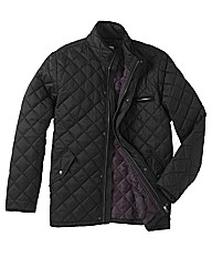 Jacamo Quilted Jacket Long Length
