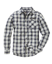 Caterpillar Long Sleeve Check Shirt