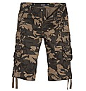 Jacamo Three Quarter Cargo Pants