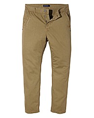 Jacamo Stone Modern Chinos 29 Inches
