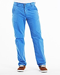 Jacamo Blue Modern Chinos 27 Inches