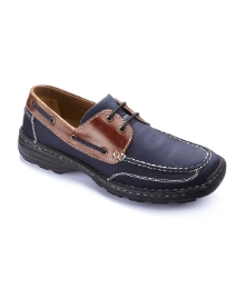 Brevitt Mens Boat Shoe