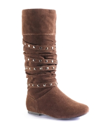 Viva La Diva Stud Detail Boot EEE Fit