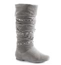 Viva La Diva Stud Detail Boot EEE Fit
