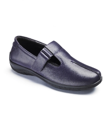 Padders T-Bar Touch & Close Shoes EEE