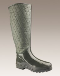 Ladies Quilted Wellies E Fit