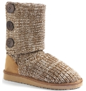 Viva La Diva Knitted Boots E Fit