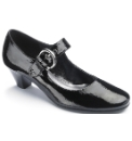 Viva La Diva Patent Bar Shoes E Fit