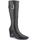 Legroom High Leg Boots Slim Calf E Fit