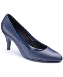 The Shoe Tailor Basic Court Shoe EEE Fit