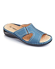 Cushion Walk Open Toe Mules EEE Fit
