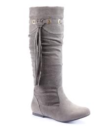 Viva La Diva Tassel Boots EEE Fit