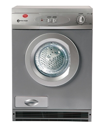 White Knight 7kg Condenser Dryer -Silver