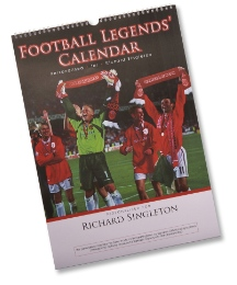 Personalised Football Calendar A4