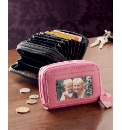 Personalised Double Zip Purses