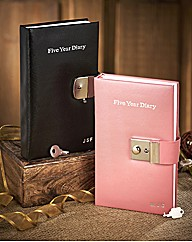 Personalised 5 Year Diary