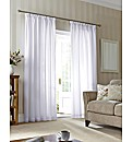 Evie Lined Voile Curtains