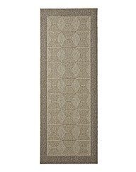 Hard Wearing Natural Look Rug Diamond