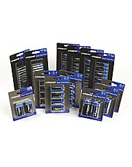 Battery Pack Assorted 80 Pieces