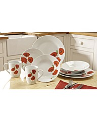 Poppy Dinner Set 8 Pieces