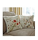 Country Diary Filled Cushion