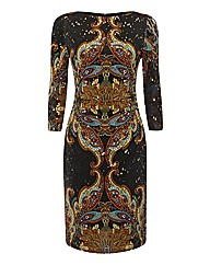 Joesph Ribkoff Paisley Print Dress
