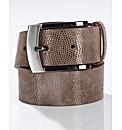 Gardeur Snake Print Belt