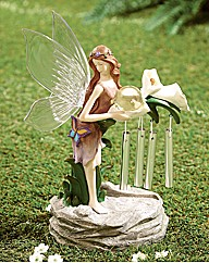 Windchime Fairy Solar Light