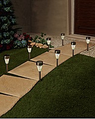 Mosaic Solar Stake Lights Pack 8