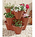 Stackable 3 Tier Planter