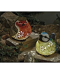 Bird Solar Light Blue Tit
