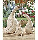 Garden Ducks Set of 3