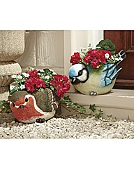 Bird Planter Robin