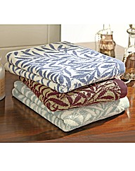 William Morris Willow Bath Towel Pair