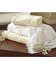 Supreme Embroidered Bath Towel