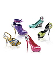 Crayola Creations Hot Heels Five Pack