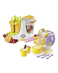 Ice Cream Maker and Fruit Factory