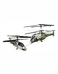 Battle Helicopters Twin Pack