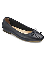 The Shoe Tailor Bow Ballerina Shoes E