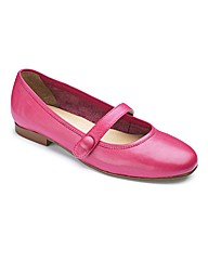 The Shoe Tailor Bar Ballerina Shoes EEE