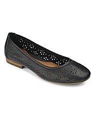 Easystep Ballerina Slip-On Shoes E Fit
