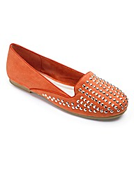 Sole Diva Studded Loafer EEE Fit