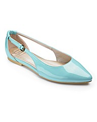 Sole Diva Slip On Shoes EEE Fit