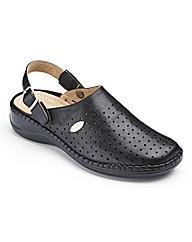 Cushion Walk Closed Toe Sandals EEE Fit