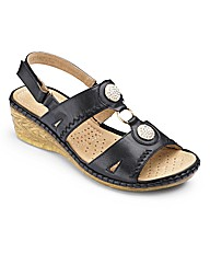 Occasions by Cushion Walk Sandals E Fit