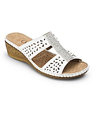 Occasions by Cushion Walk Mules EEE Fit