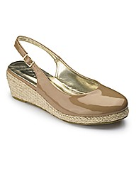Sole Diva Slingback Shoes E