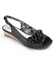 Lotus Slingback Shoes EEE Fit